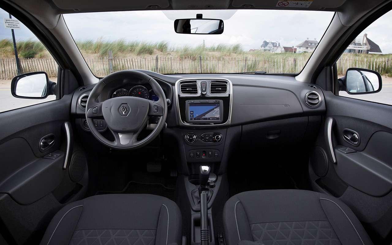 «Нафаршированный» Renault Sandero Stepway или «пустой» Duster: что выбрать?— фото 890405