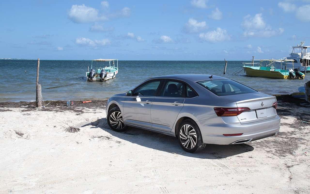 Новый седан Volkswagen Jetta: первый тест-драйв!— фото 1007003