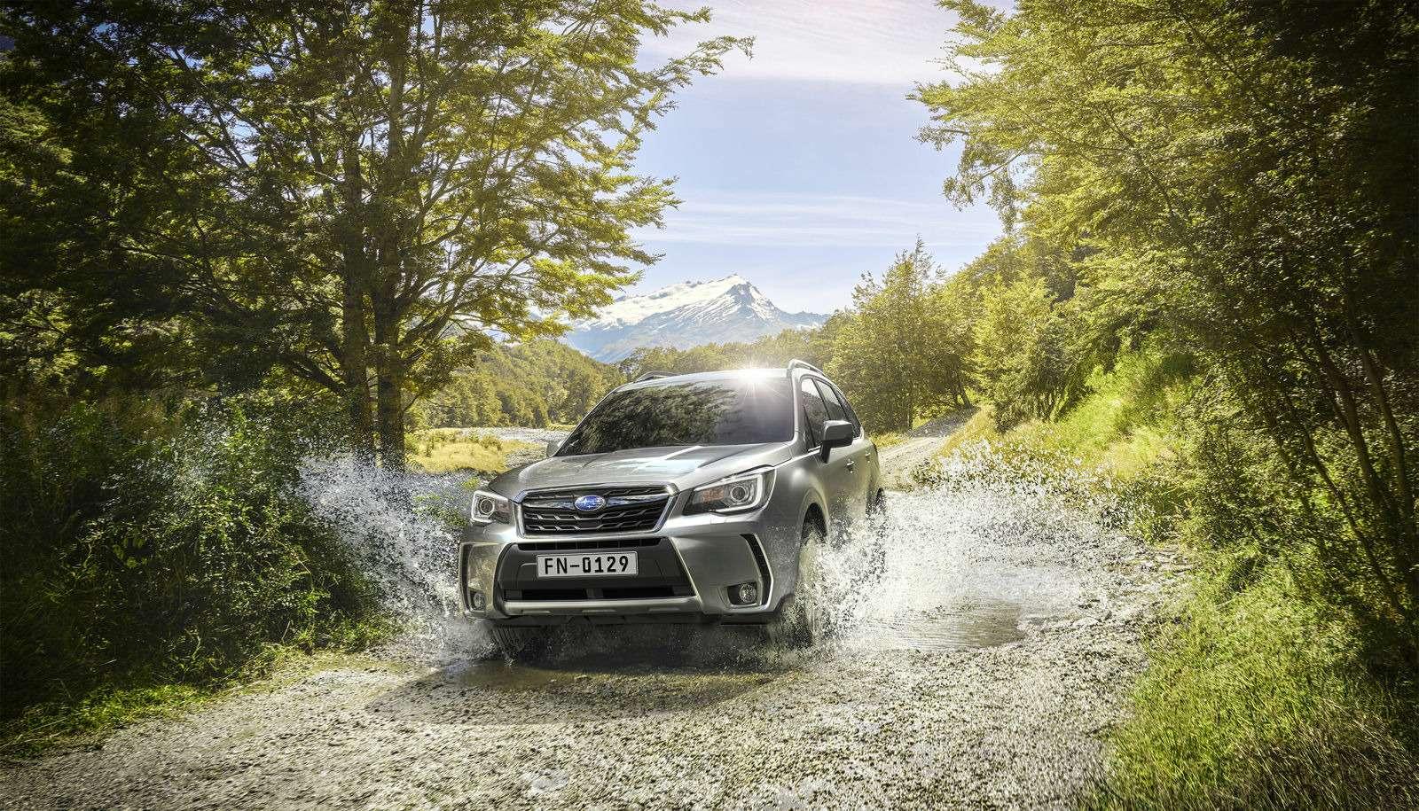 Обновленный Subaru Forester научили беречь корму— фото 791097