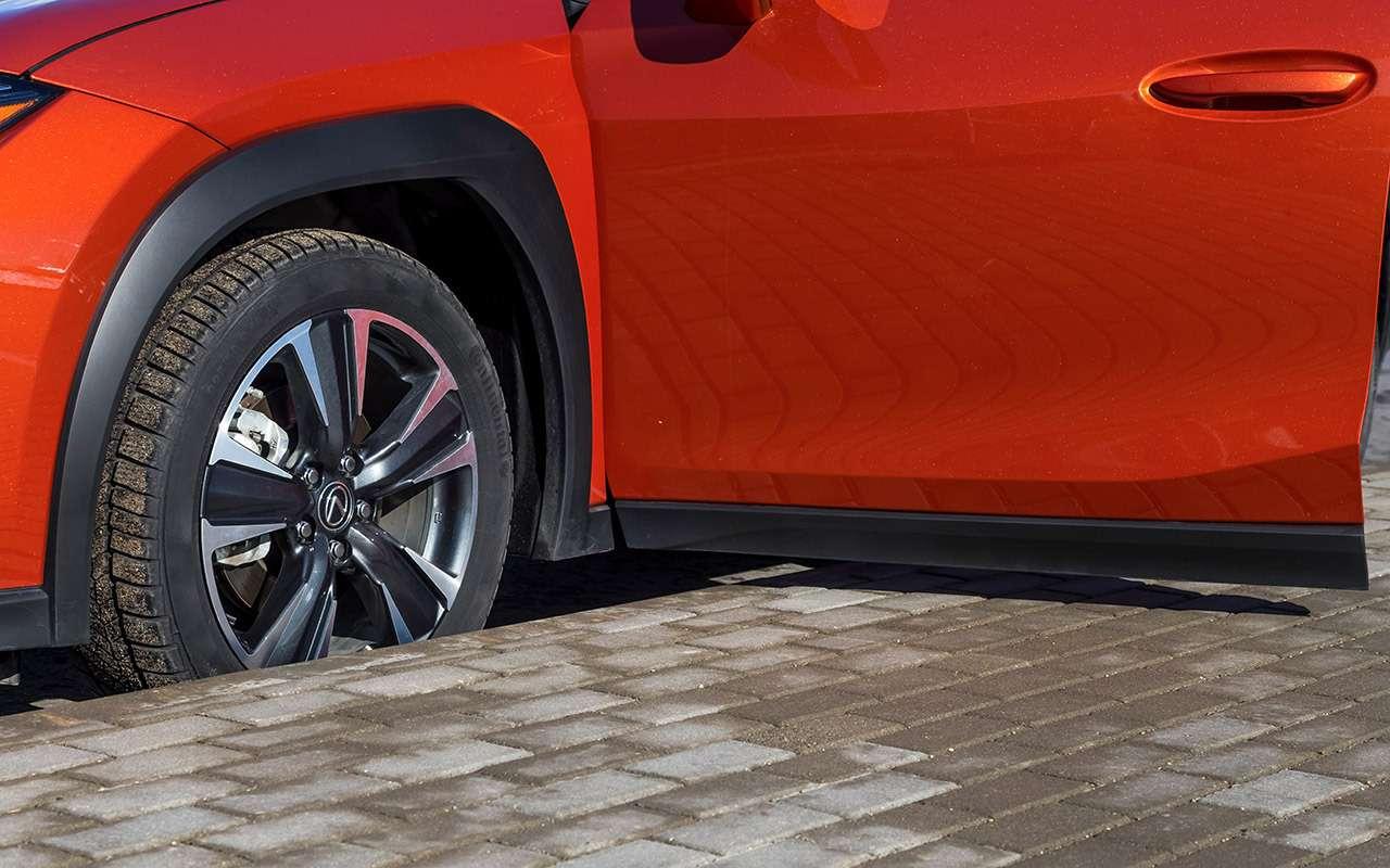 Volvo XC40, Lexus UX, Jaguar E‑Pace— тест-драйв вцифрах— фото 984058