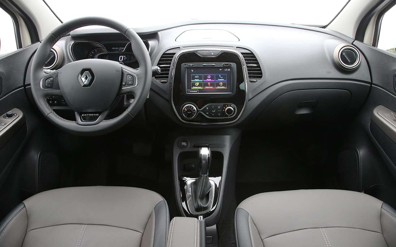 5 плюсов идве спорные особенности Renault Kaptur— фото 876337
