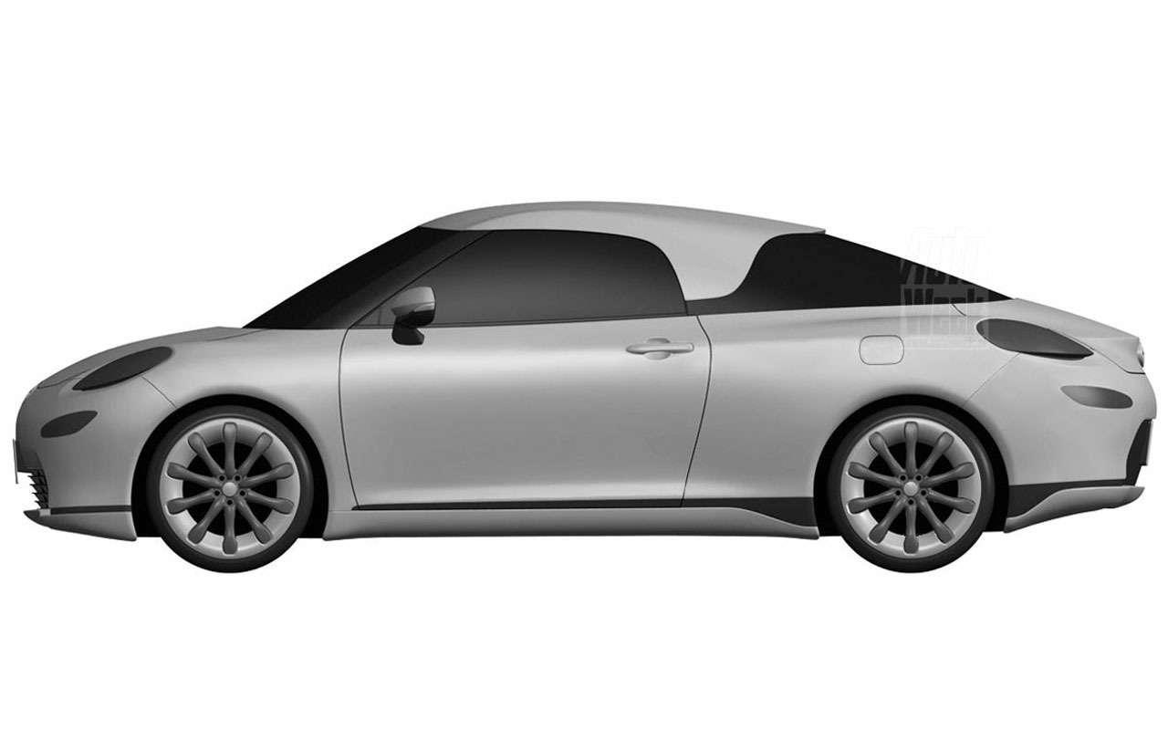 Toyota патентует новый спорткар— фото 965716
