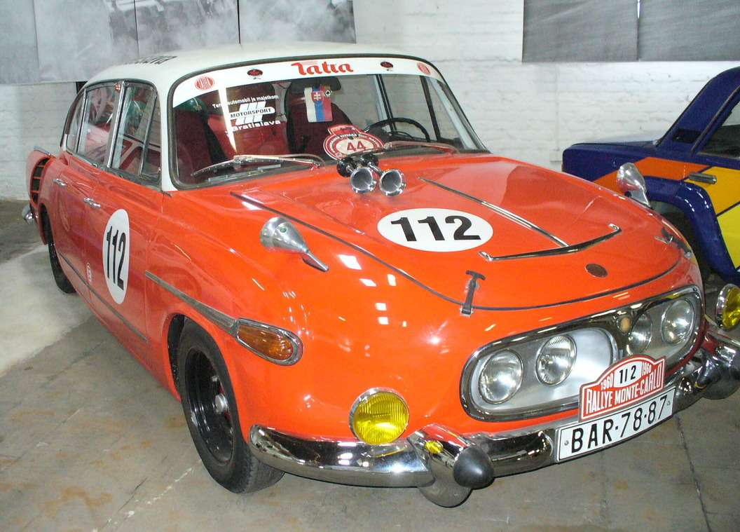 Tatra-603— участник ралли Монте-Карло 1960 года. Фото: Wikipedia