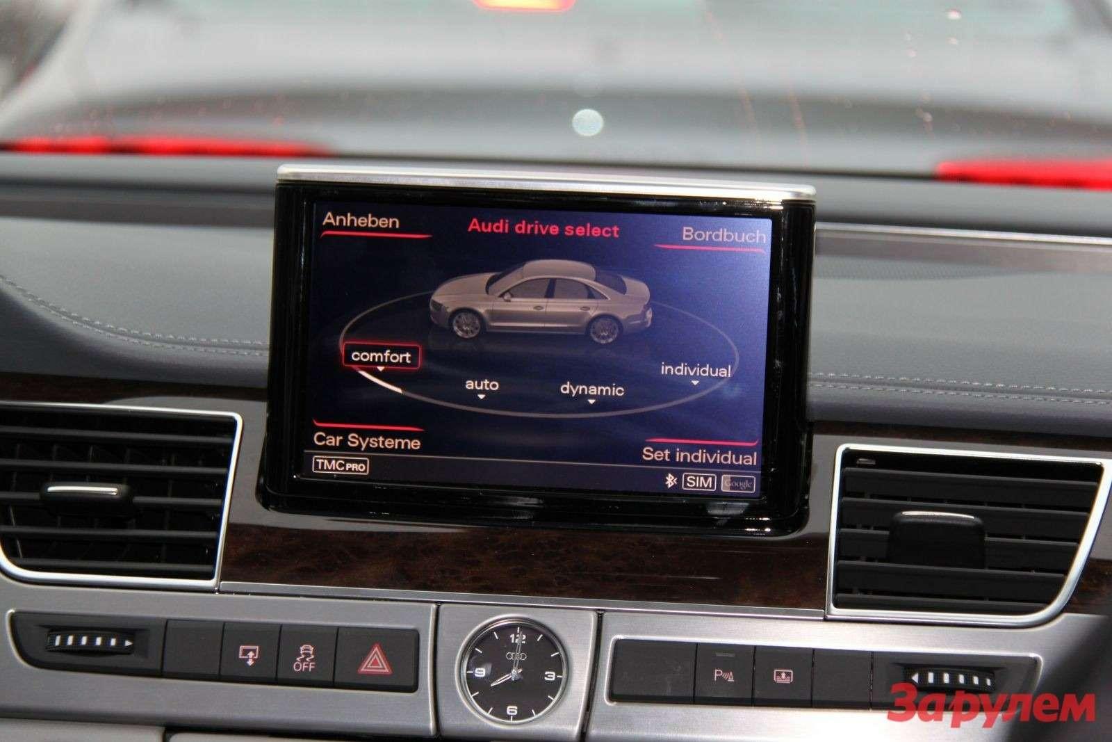 Красный полоски вверху нафото— это тормозит впередиидущий автомобиль.