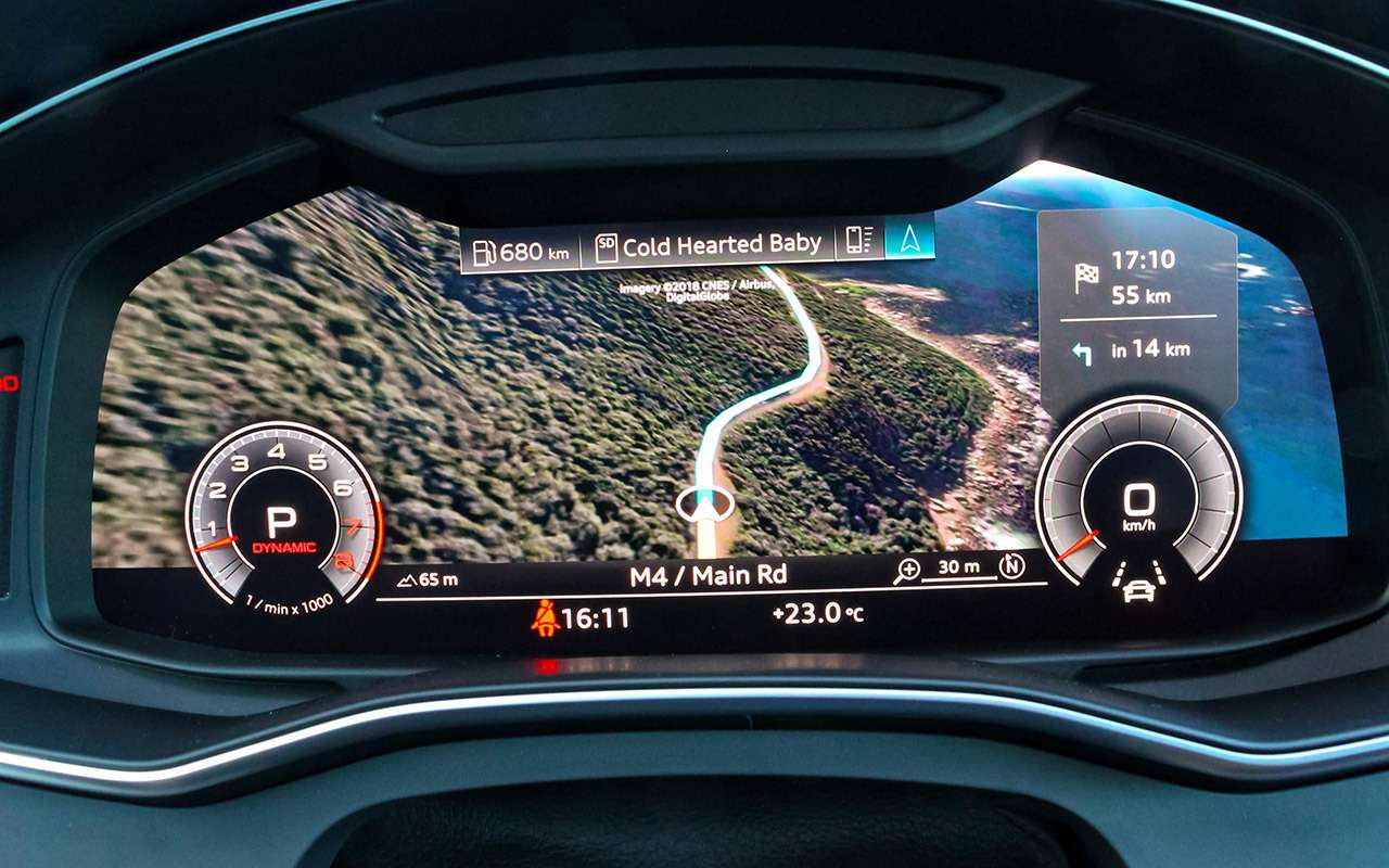 Audi A7Sportback— тест-драйв-искушение— фото 863171