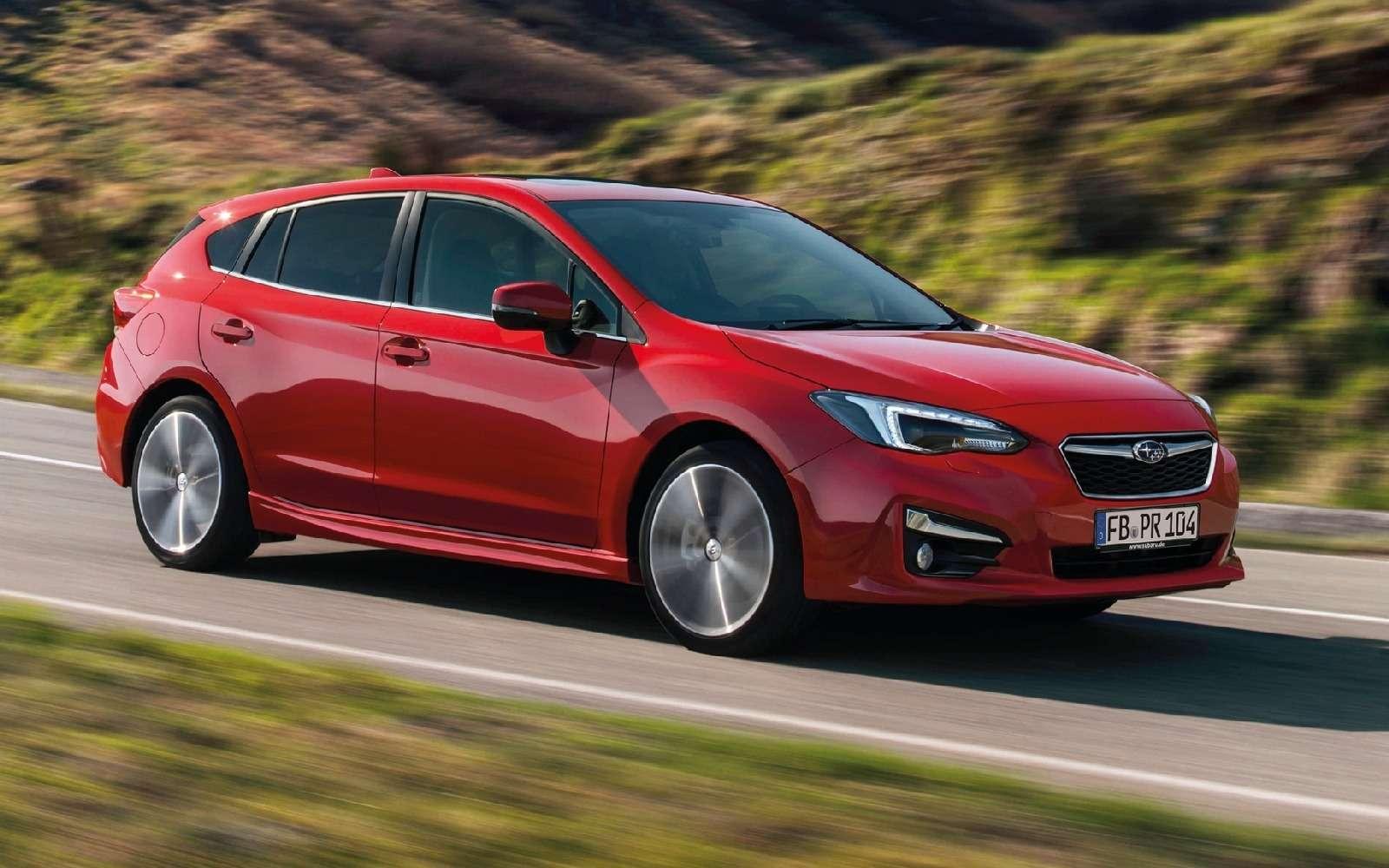 Новая Subaru Impreza— анонсирована европейская премьера— фото 770870
