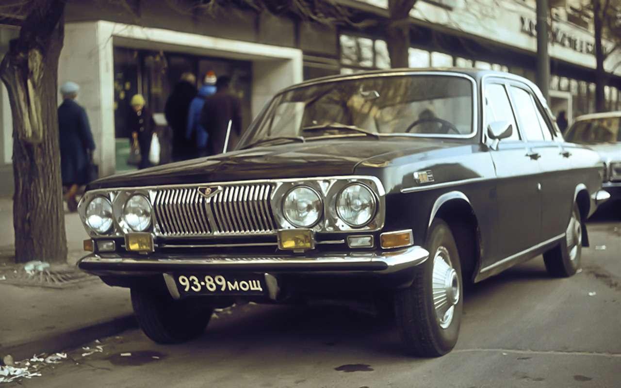 Неизвестная Волга — 15редчайших версий ГАЗ-24— фото 988780