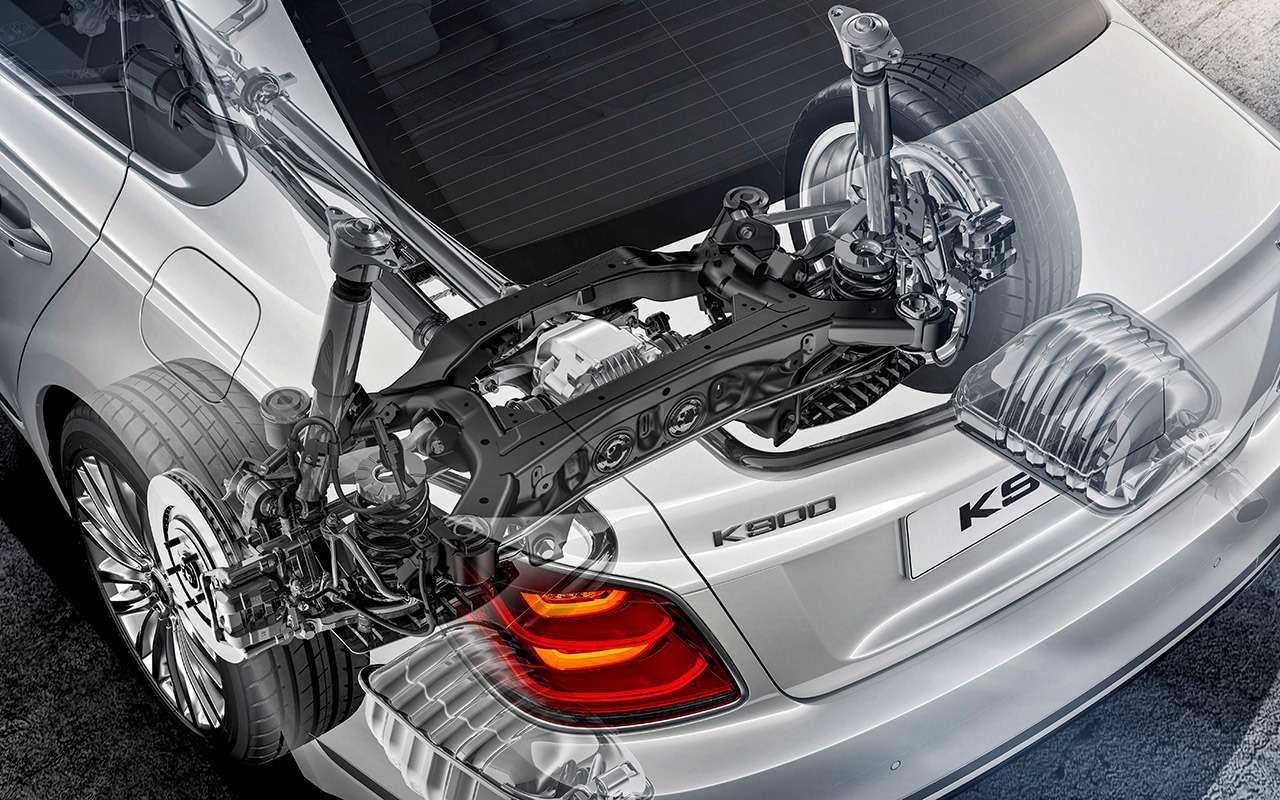 Самый дорогой седан Kia—  тест-драйв— фото 950829