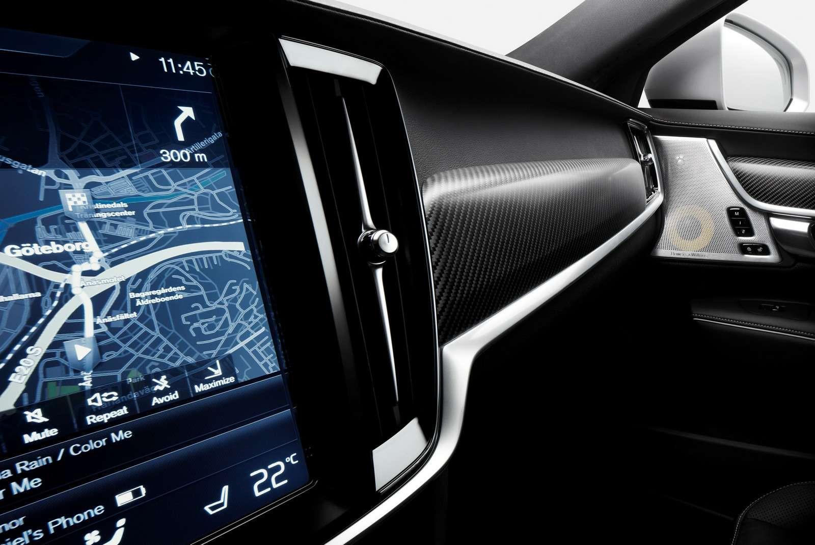 Volvo подготовила дляфлагманской модели спортпакет R-Design— фото 600942