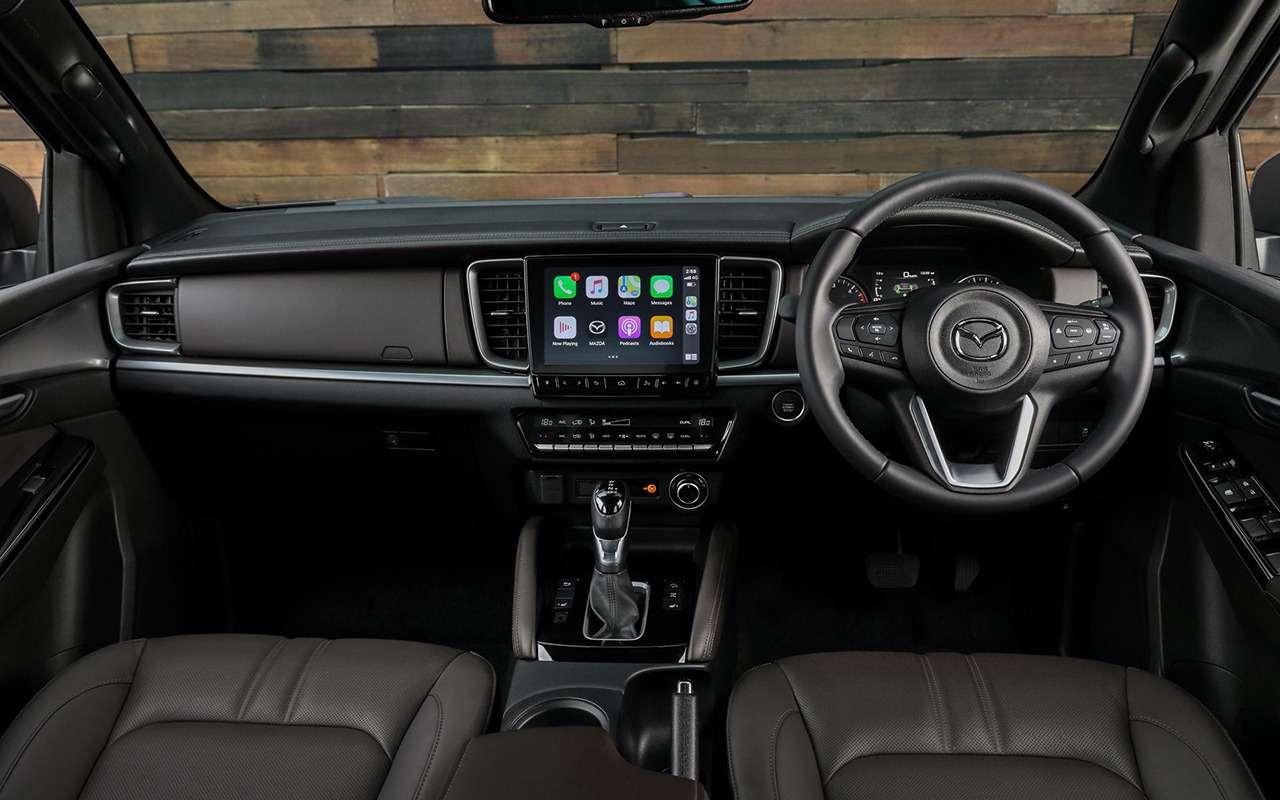 Представлен новый пикап Mazda BT-50— фото 1140604