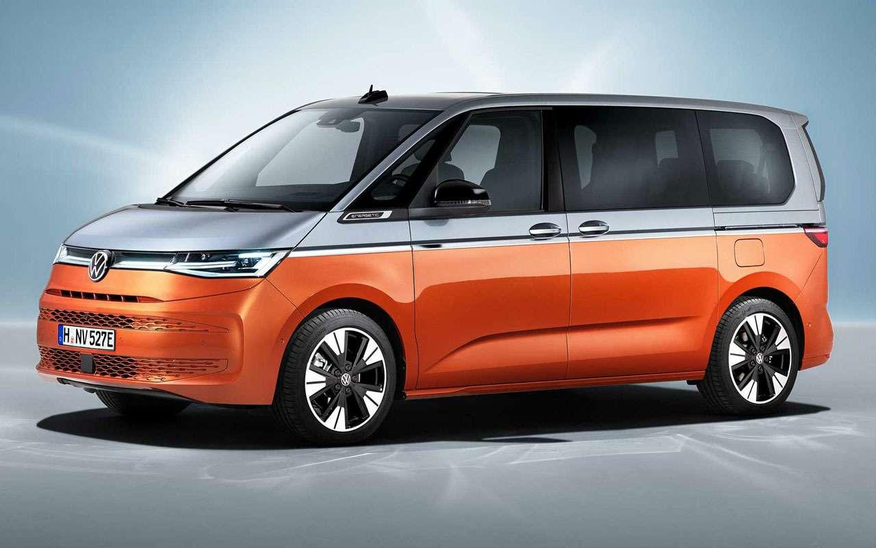 VWпредставил новое поколение Multivan— фото 1253052