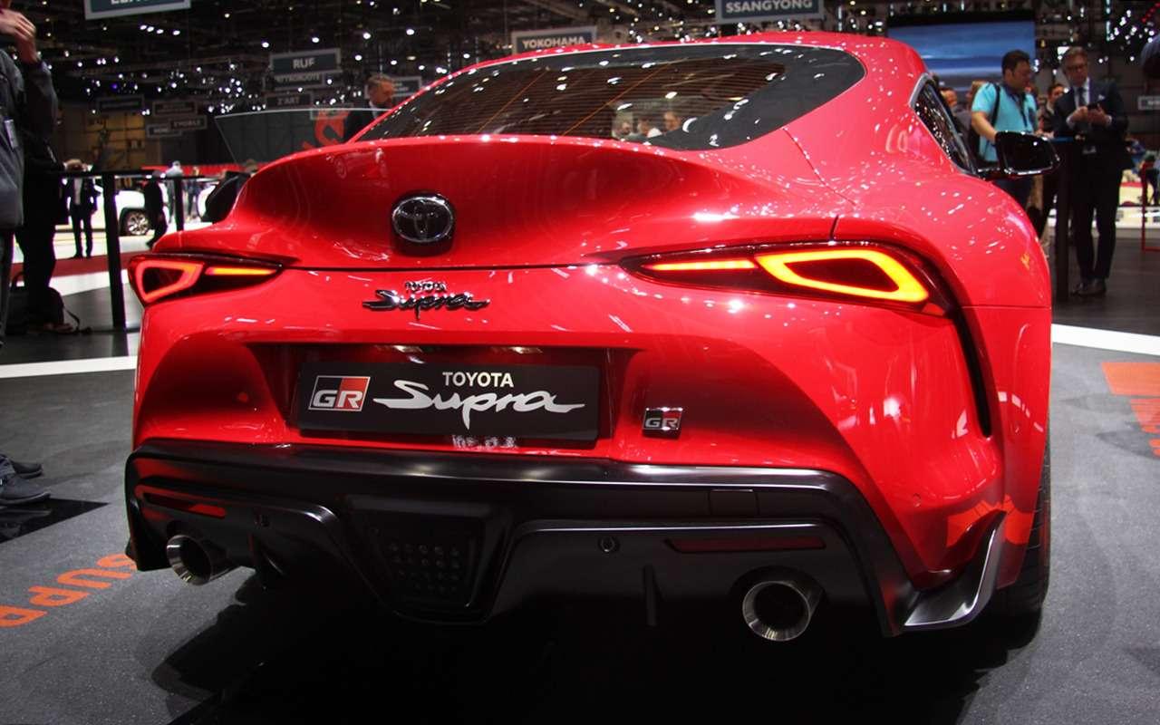 Новая Toyota Supra— легенда возвращается (ивРоссию тоже!)— фото 955290