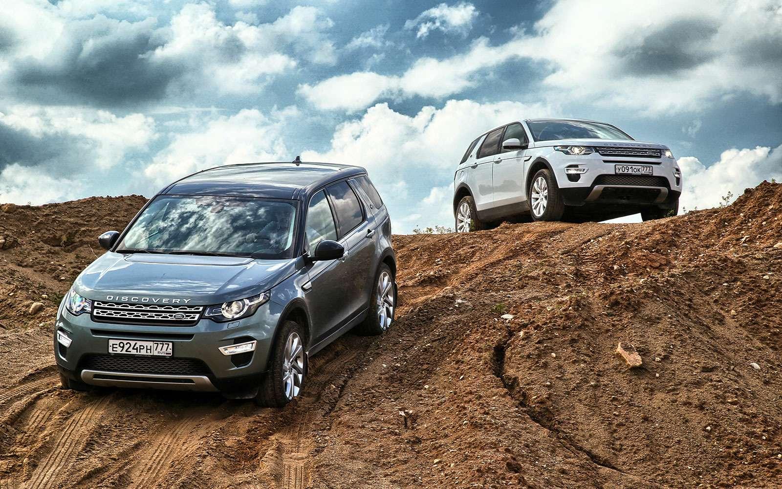 Выбираем Land Rover Discovery Sport: бензин или дизель?— фото 624638