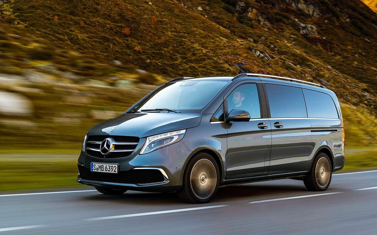 Mercedes-Benz V‑класса: изменения после рестайлинга— фото 954999