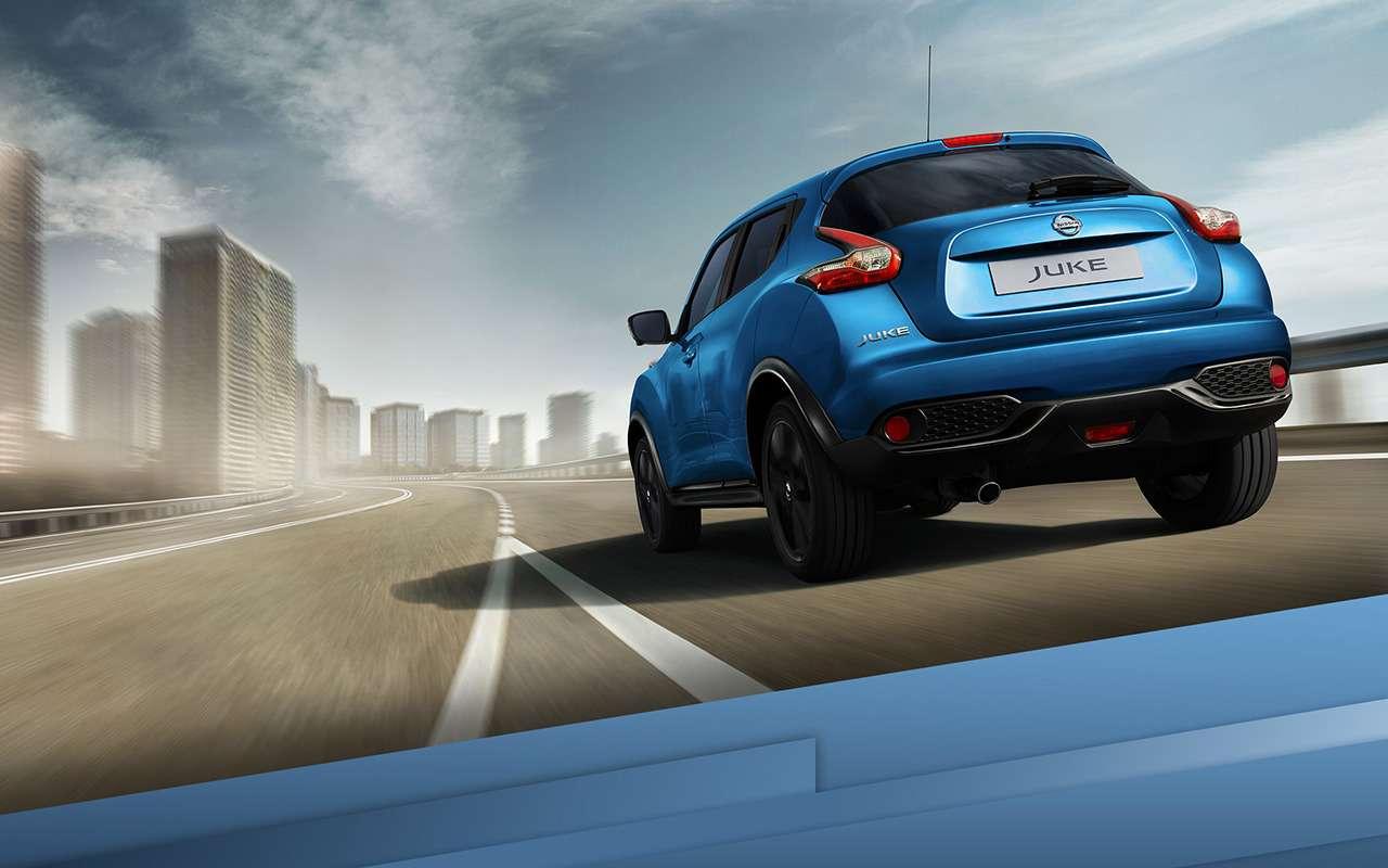 Nissan Juke: новые цвета исветодиоды. Уже впродаже— фото 879166