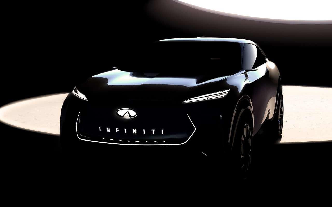 Infiniti опубликовала тизер нового кроссовера