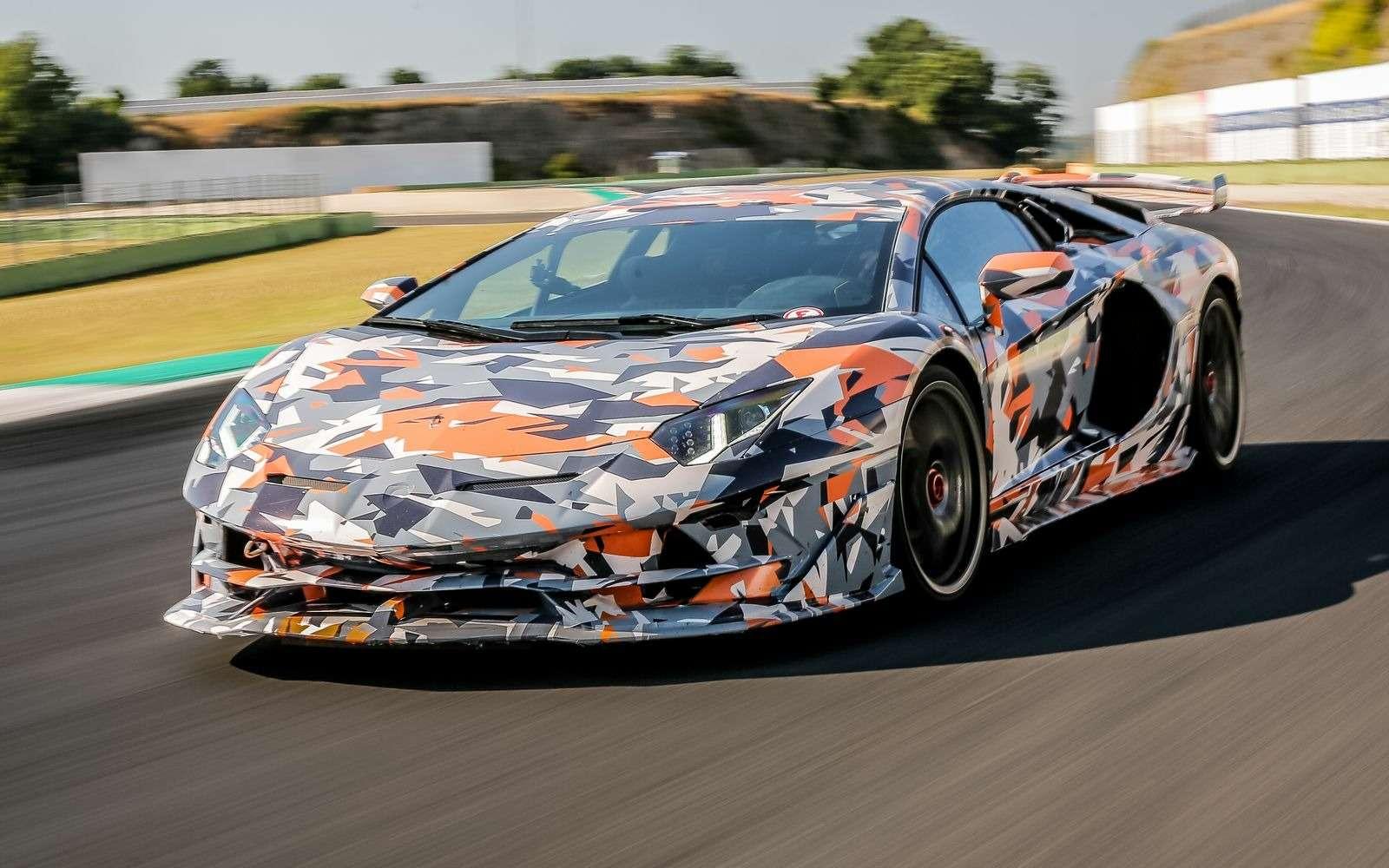Lamborghini установила новый рекорд Нюрбургринга длясерийных машин— фото 890779