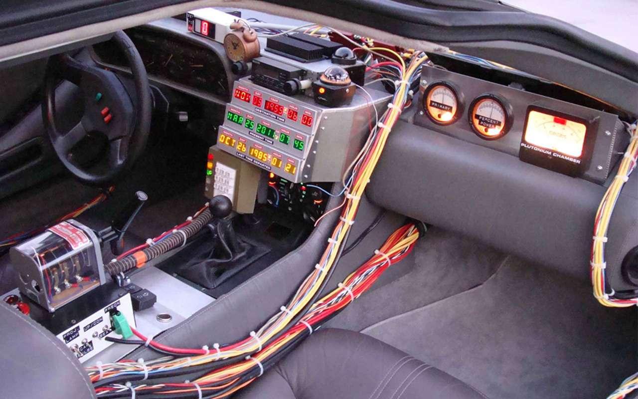 Назад вбудущее: идем смотреть фильм про машину времени DeLorean— фото 994237
