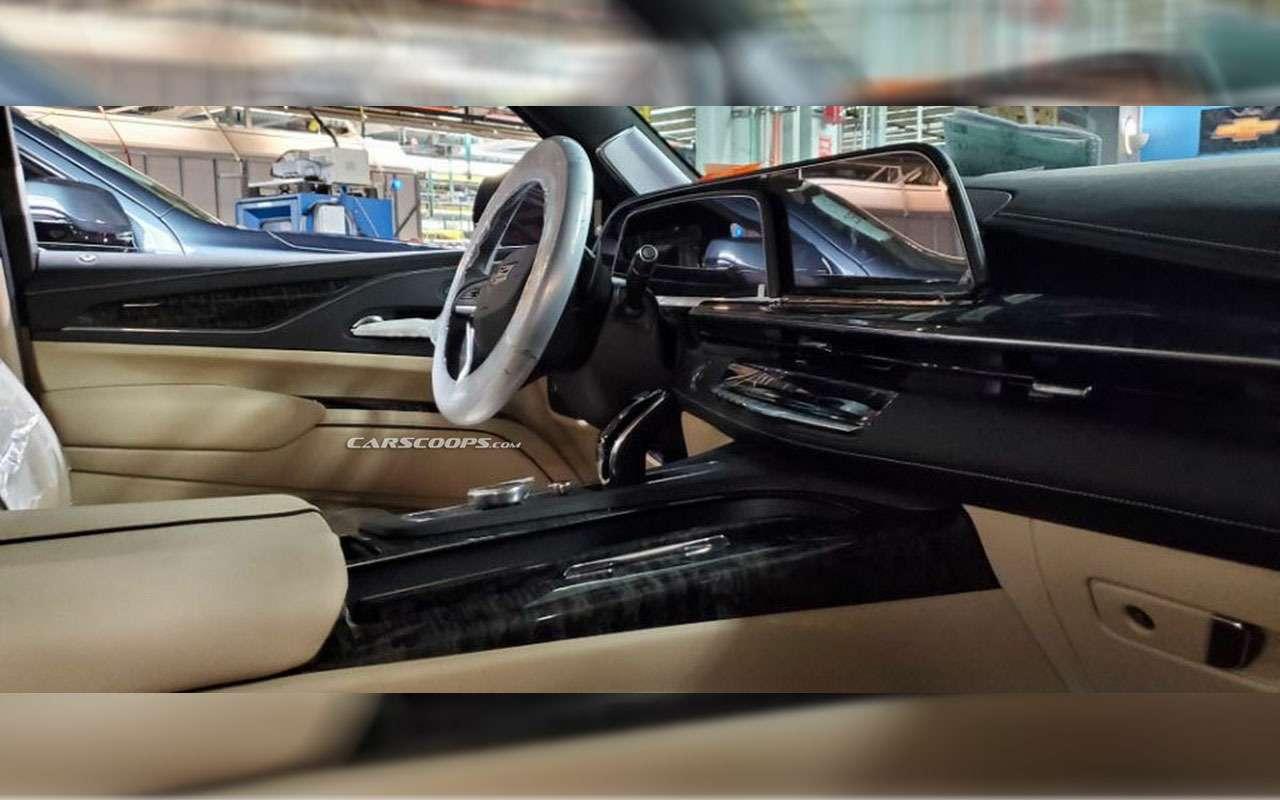 Новый Cadillac Escalade— первые фото сзавода— фото 1021634