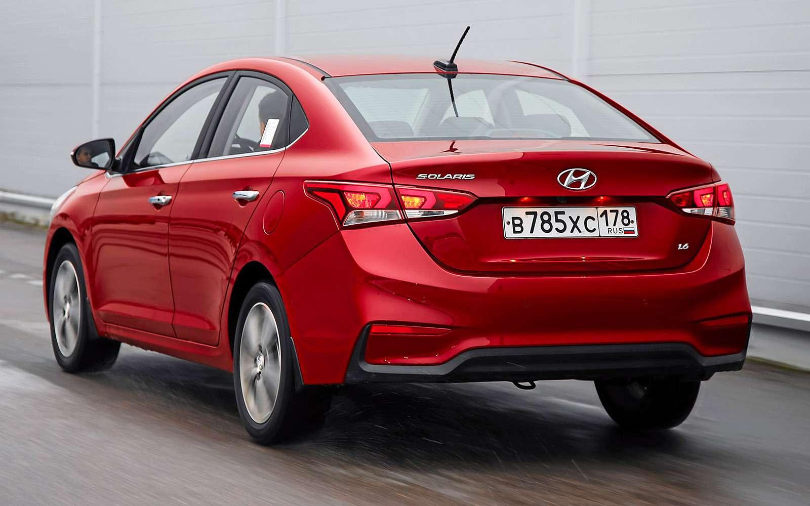 Новый Hyundai Solaris— отец Креты— фото 716945