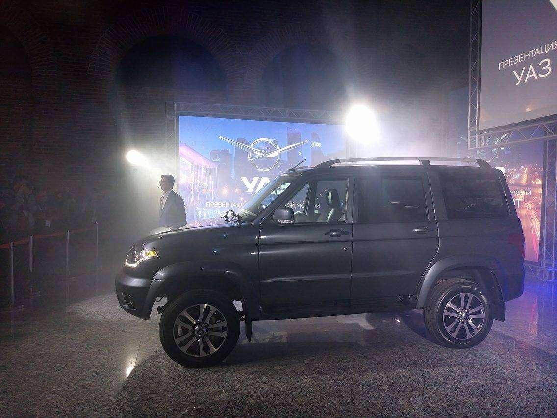 Обновленный УАЗ Патриот нацелился наэкспорт— фото 648032