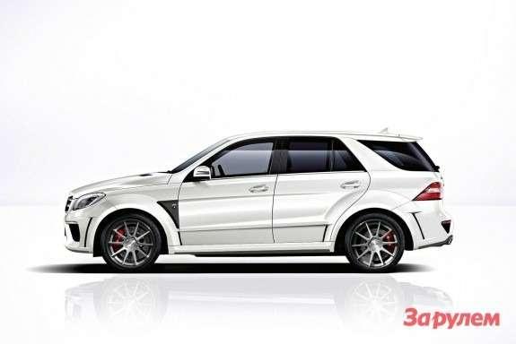 Mercedes-Benz ML63AMG byTopCar side view