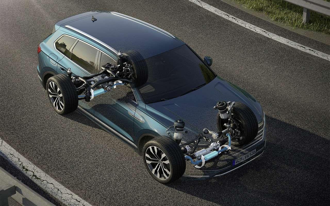 Тест-драйв нового Volkswagen Touareg: хочется большего— фото 871639