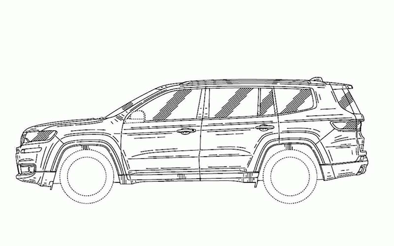 Новый Jeep Grand Commander: первые фото серийной машины— фото 825031