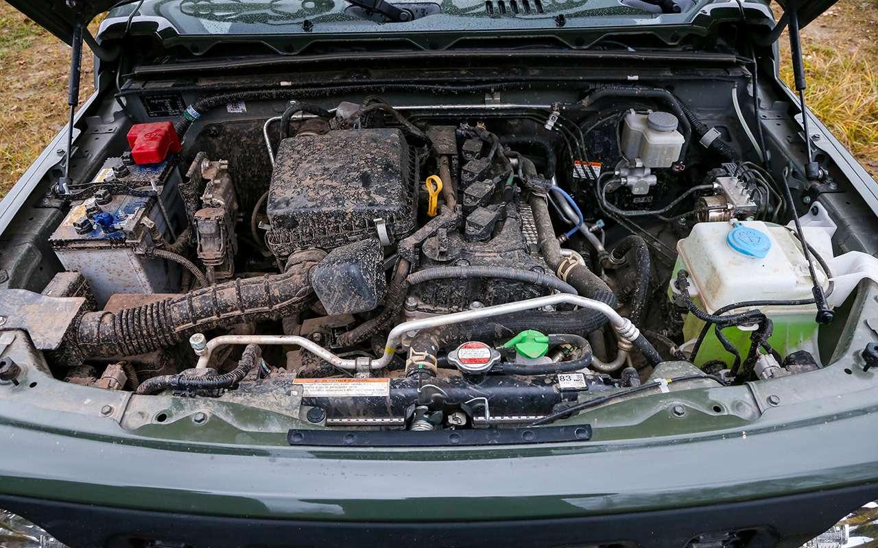 Тест-драйв легенд бездорожья: Lada 4x4, Suzuki Jimny, Jeep Wrangler— фото 1089428