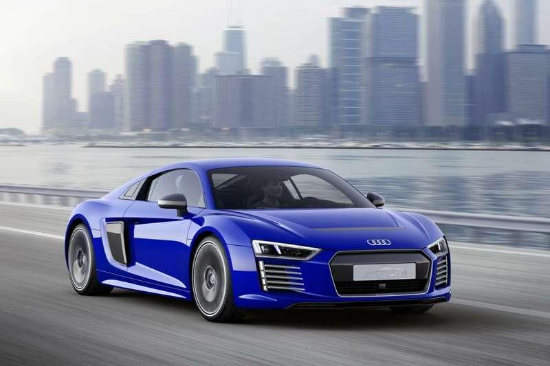 Audi R8e-tron piloted driving concept