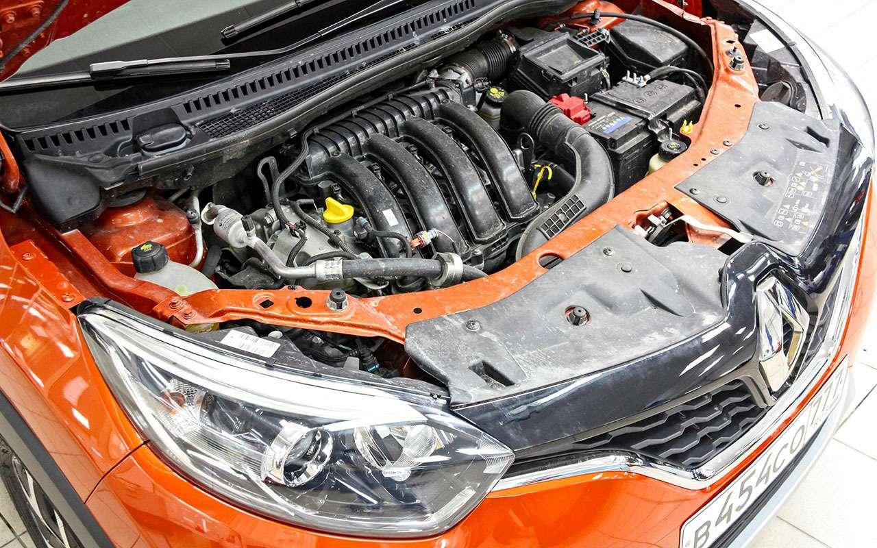 Renault Kaptur— тест-ремонт ЗР— фото 784397