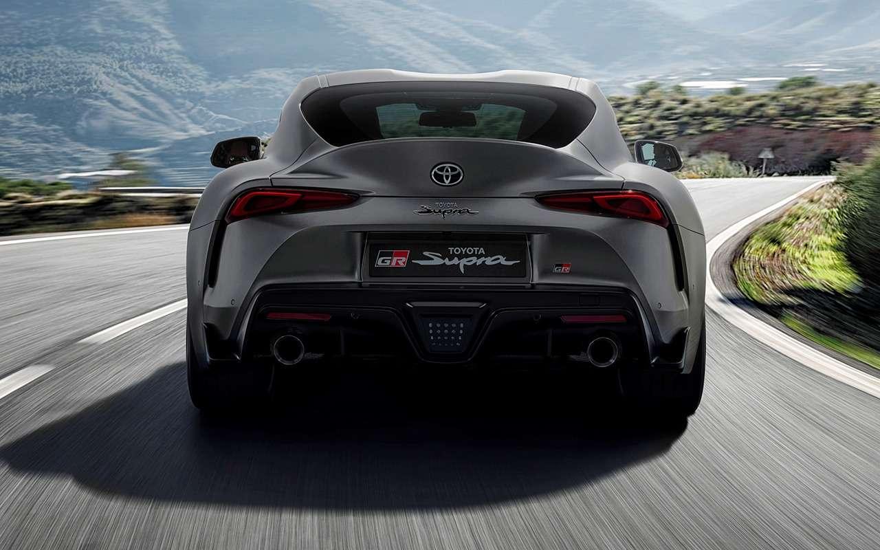 Новая Toyota Supra: комплектации ицены— фото 978222