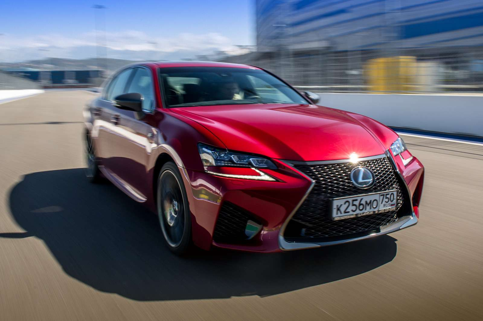 Оператив ЗР: Lexus RCFиGSFжгут на«Сочи Автодроме»— фото 571708