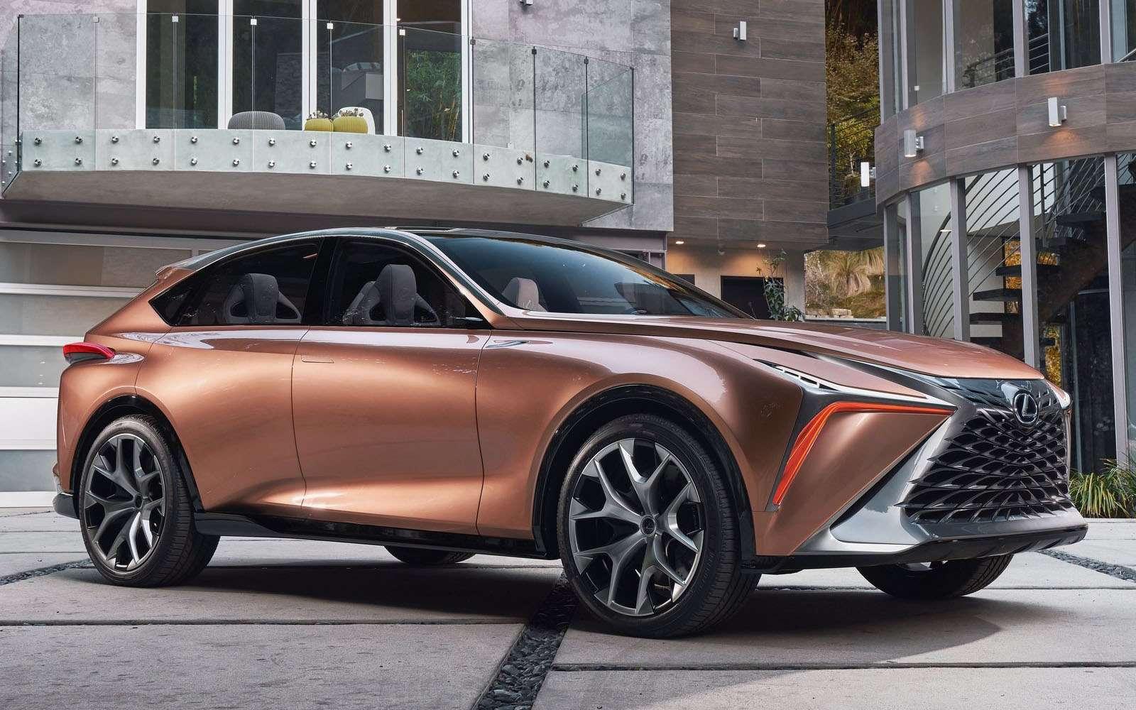 Lexus показал свой будущий флагманский кроссовер— фото 836191