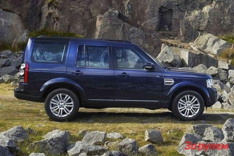 Обновленный Land Rover Discovery