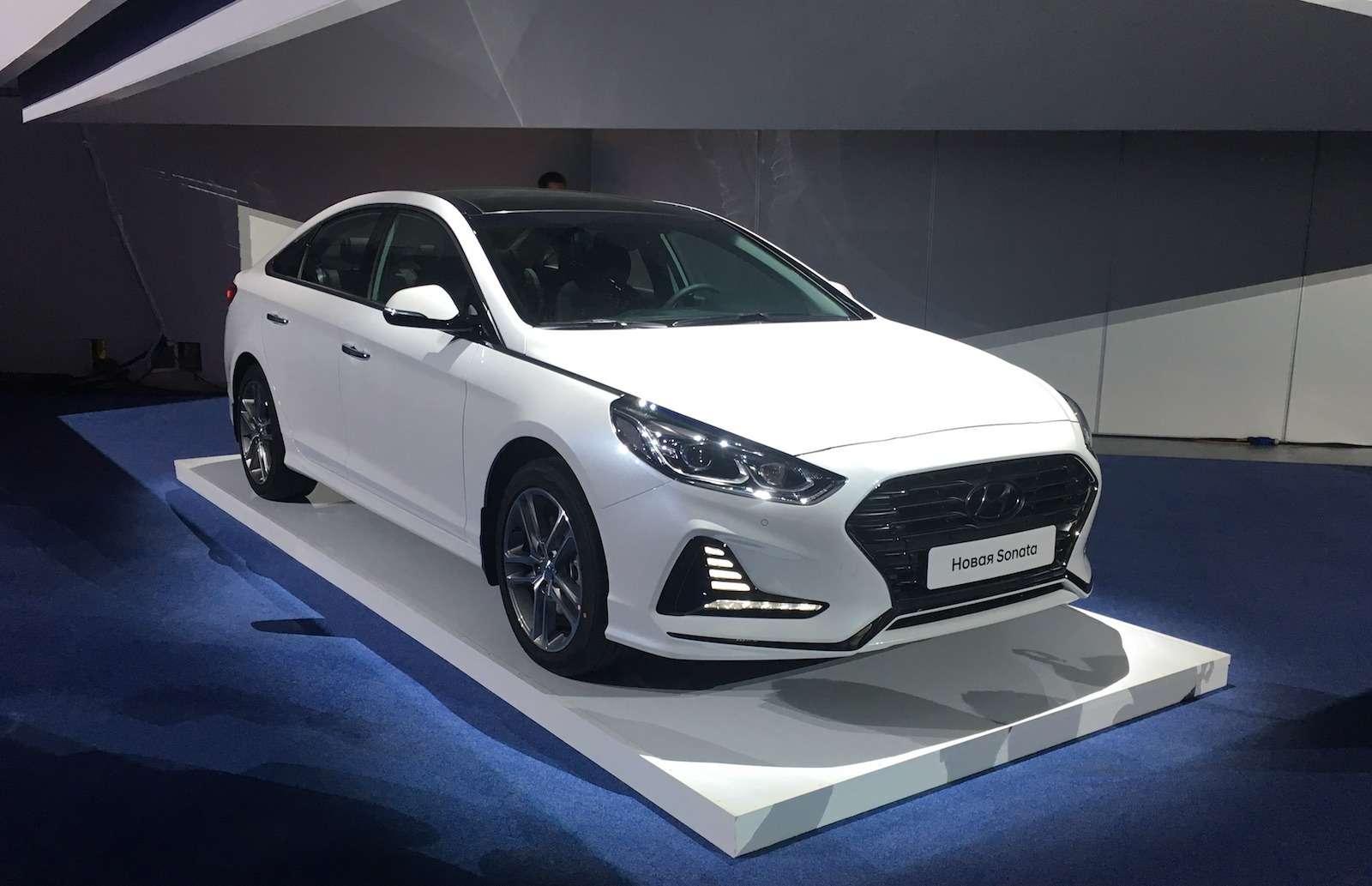 Hyundai объявила российские цены навернувшуюся Сонату— фото 796855
