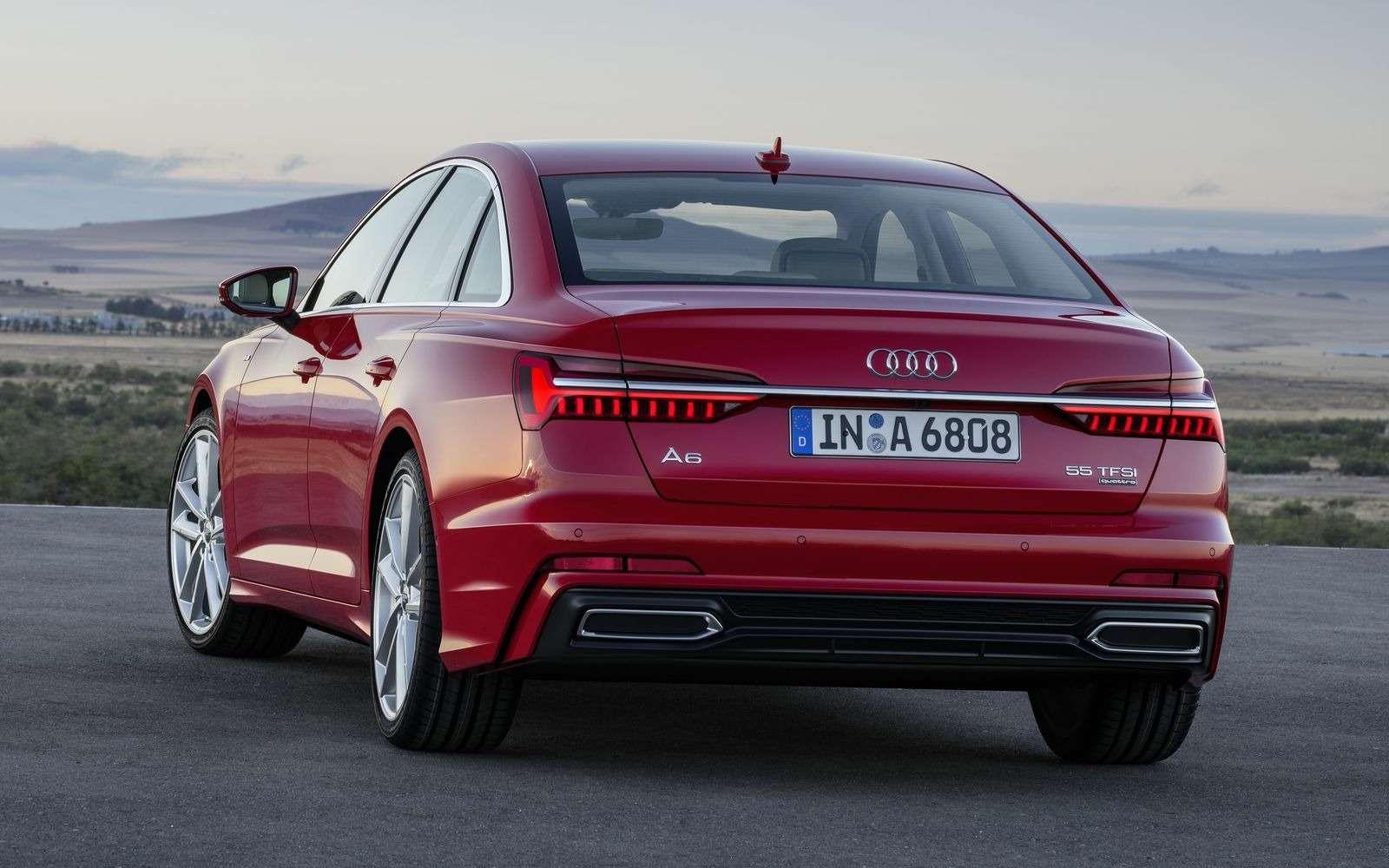 Новый Audi A6: найди десять отличий— фото 849228