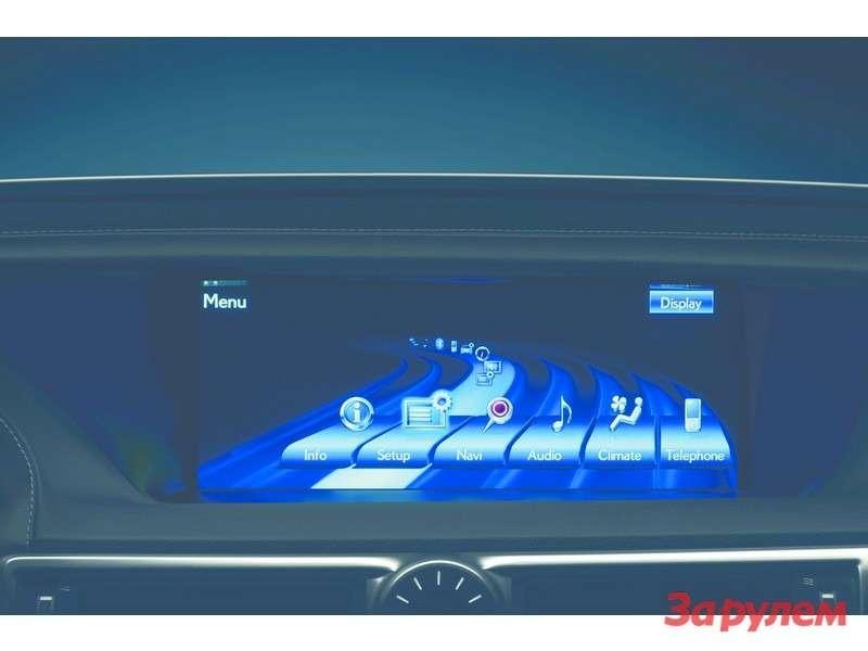 LexusGS450h 37DH MultimediaDiplay