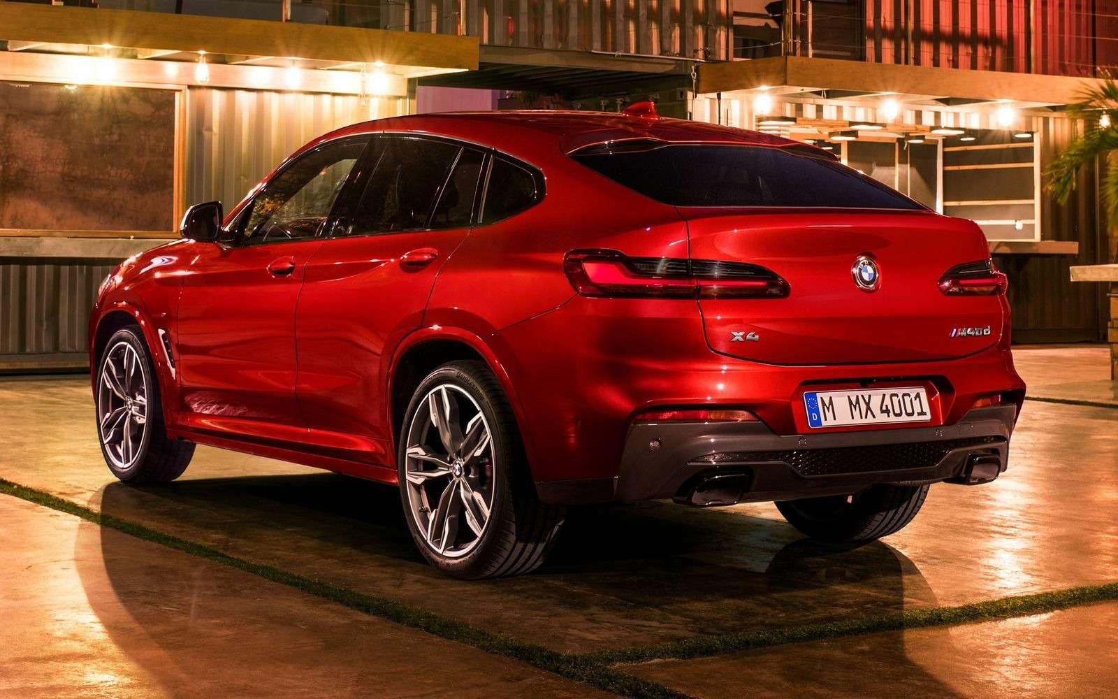 BMWобъявила цены нановый Х4в России— фото 853854