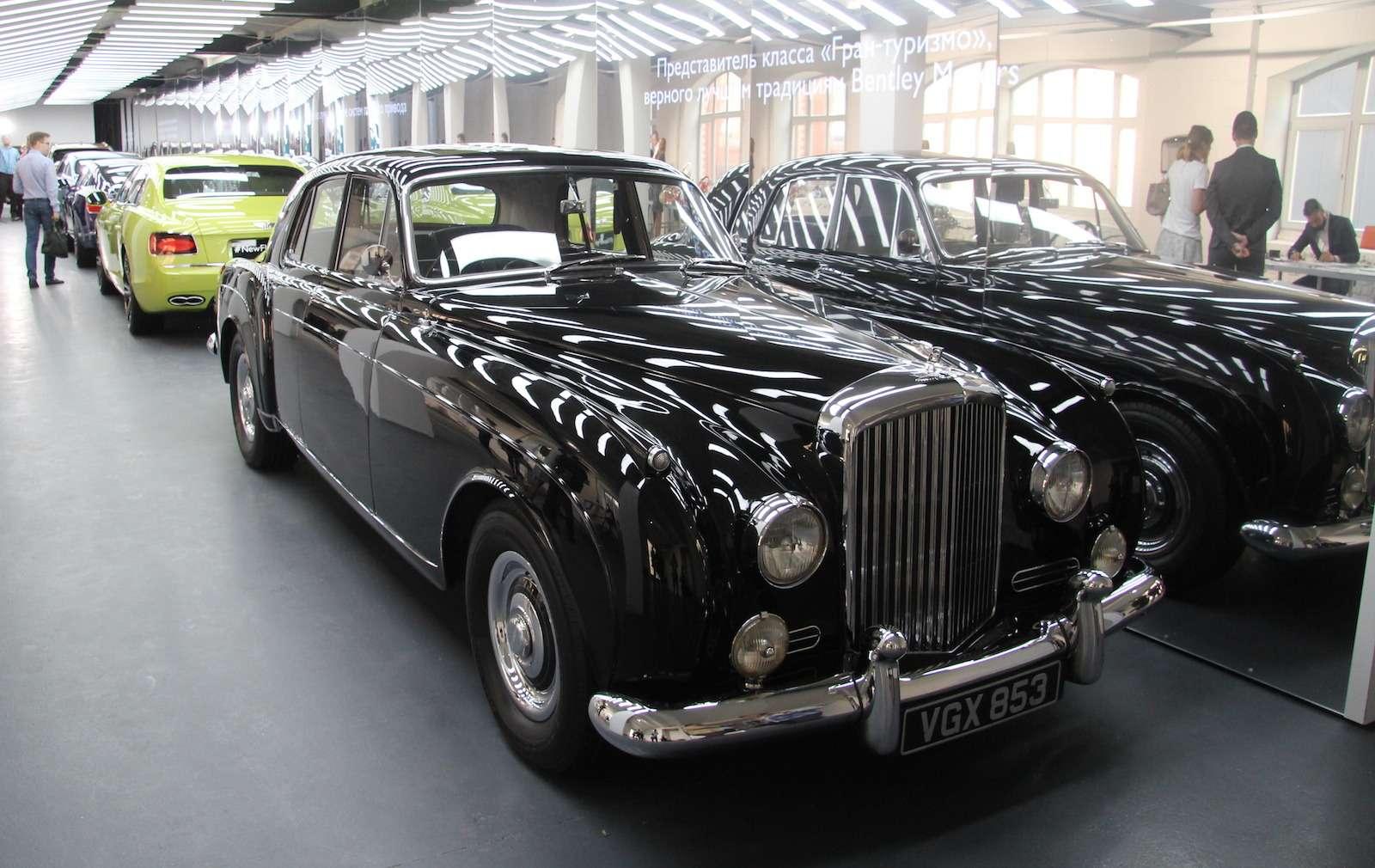 Bentley привезла вМоскву «экстраординарную» выставку— фото 593993