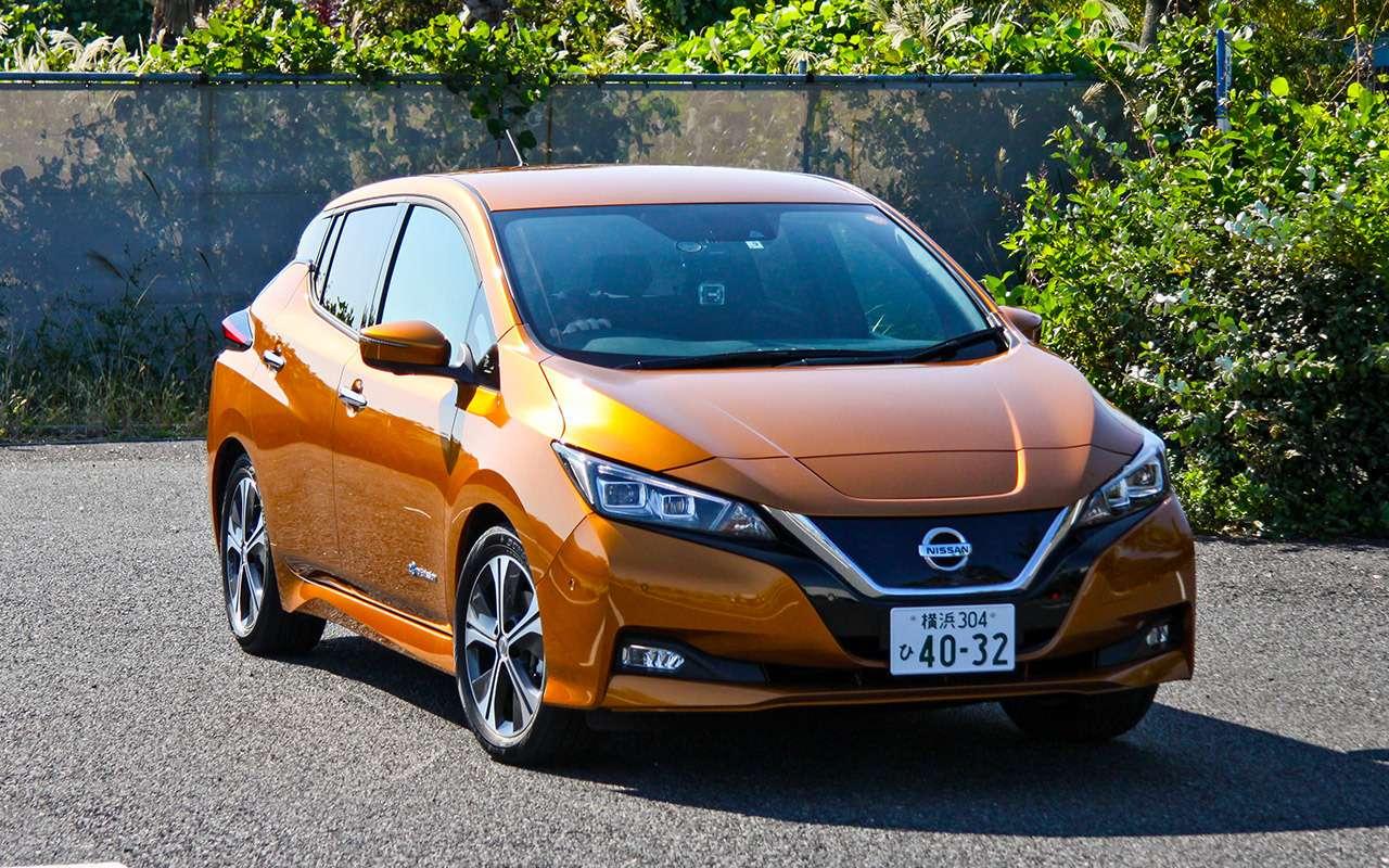 Новый Nissan Leaf— тест-драйв без тормозов— фото 837347
