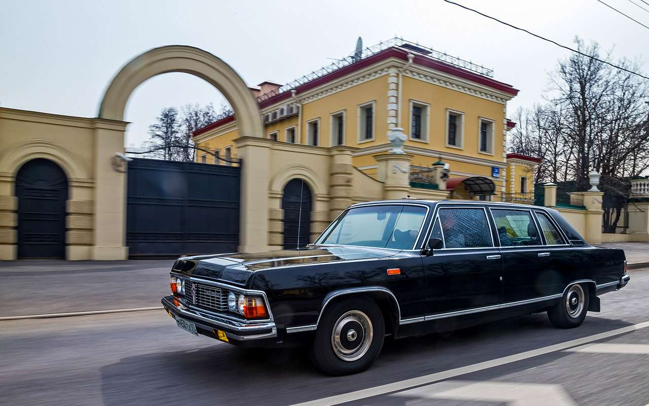 Тест машины, которую никогда не продавали: Чайка ГАЗ‑14— фото 998636