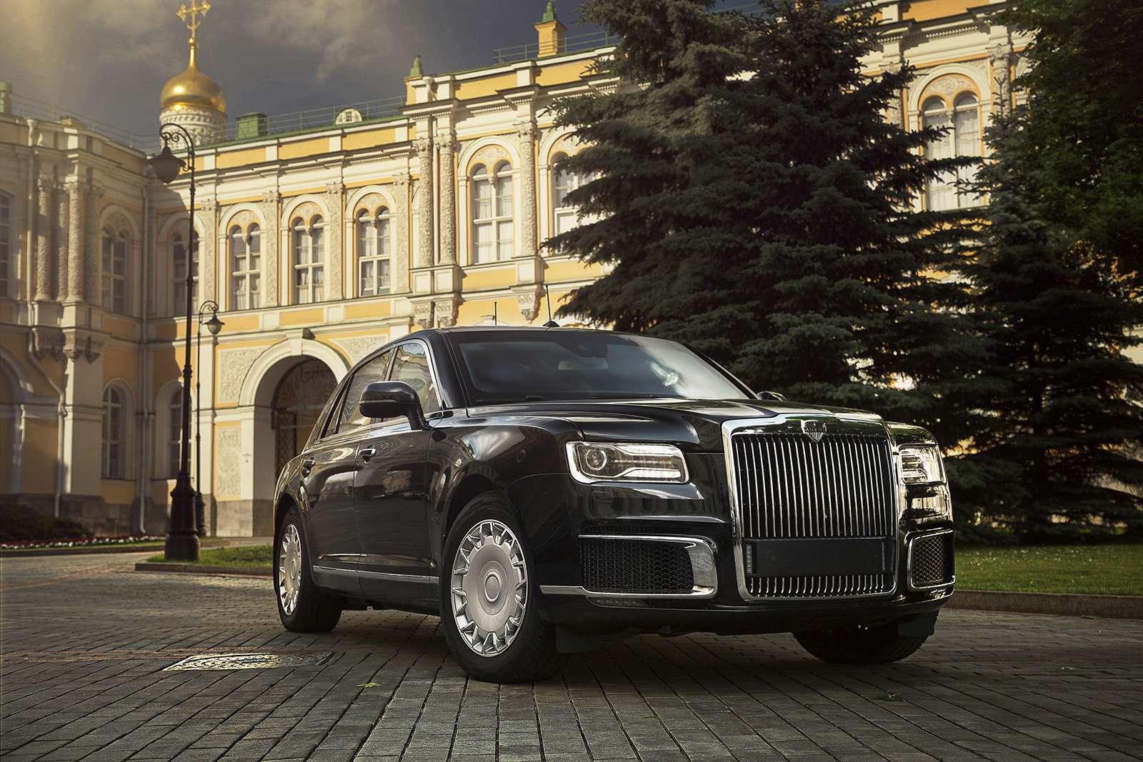 Aurus Senat: заглядываем внутрь самого крутого российского автомобиля— фото 906730