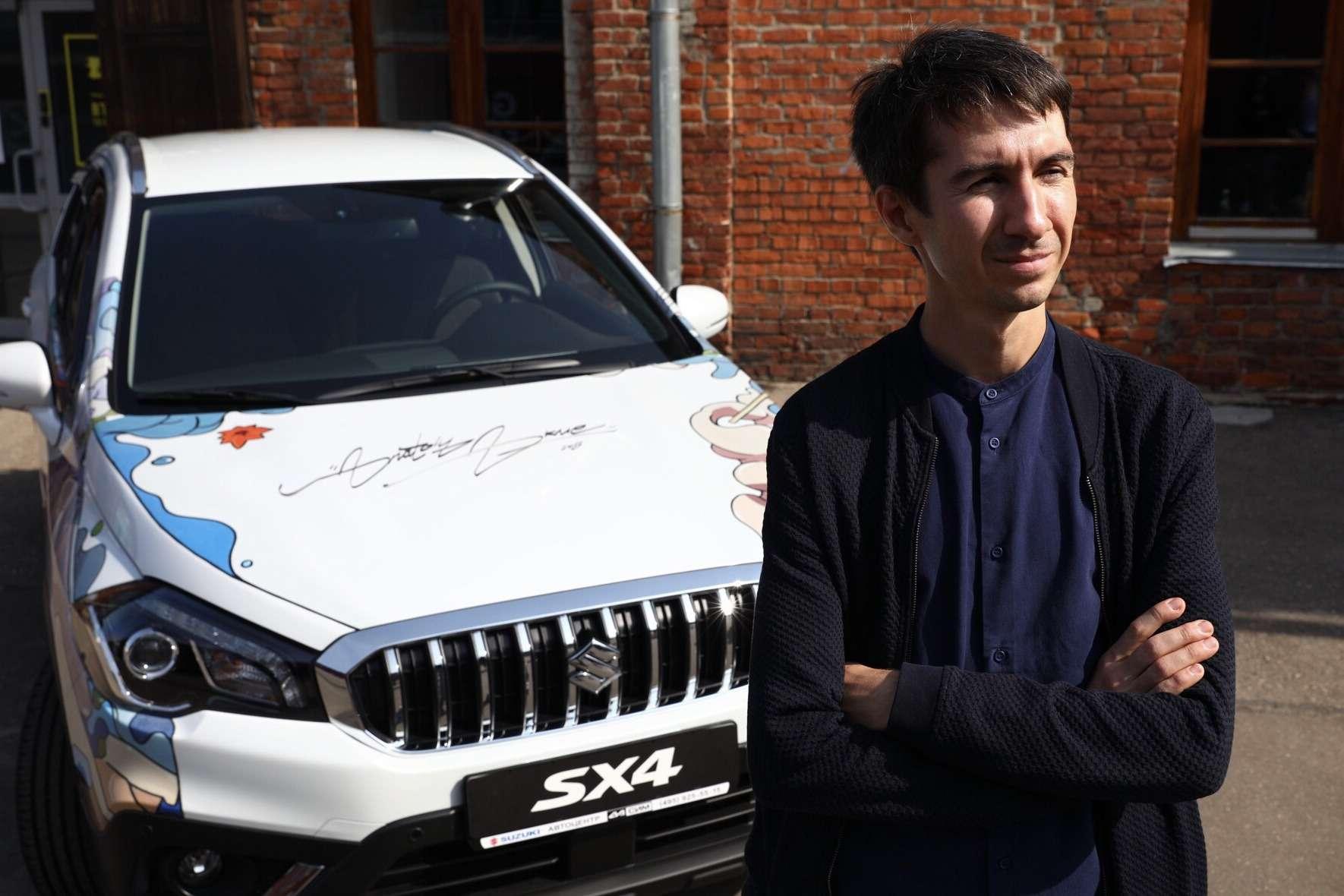 В России представили эксклюзивную Suzuki SX4— фото 903762