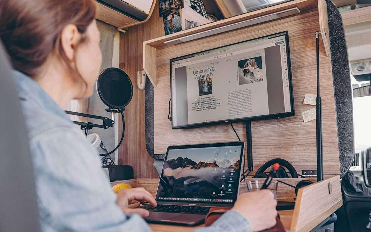 Хоум-офис вкемпере: оригинальное решение рабочего стола— фото 1273061