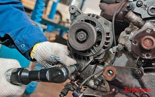 Напервых партиях УМЗ-4216 установлены генераторы на70А