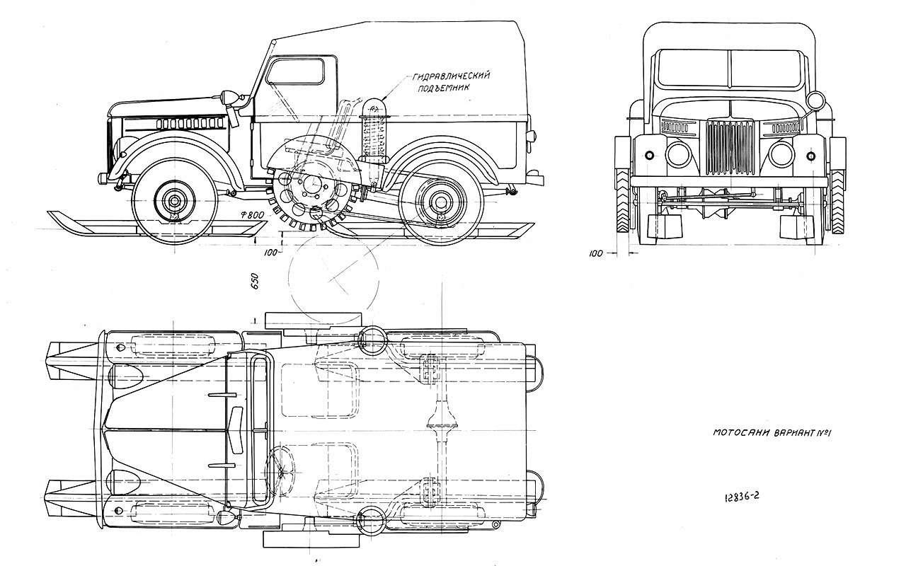 Современник трех генсеков— ГАЗ-69 отмечает 65лет— фото 769197