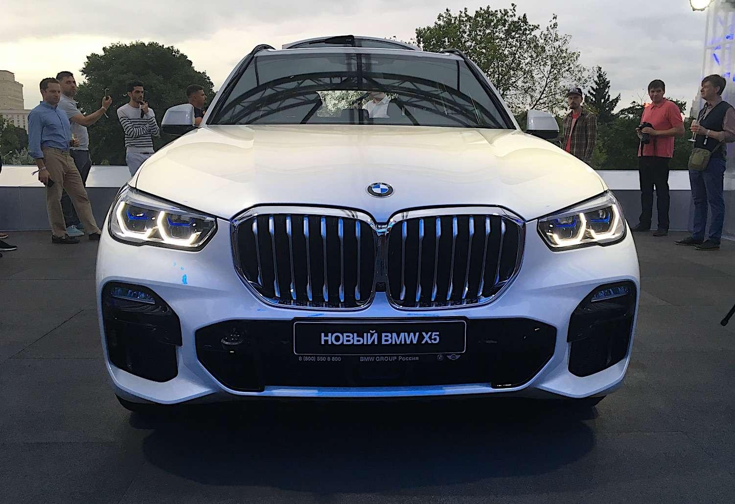 Абсолютно новый BMW X5всплыл вМоскве. Задолго доофициальной премьеры!— фото 889843