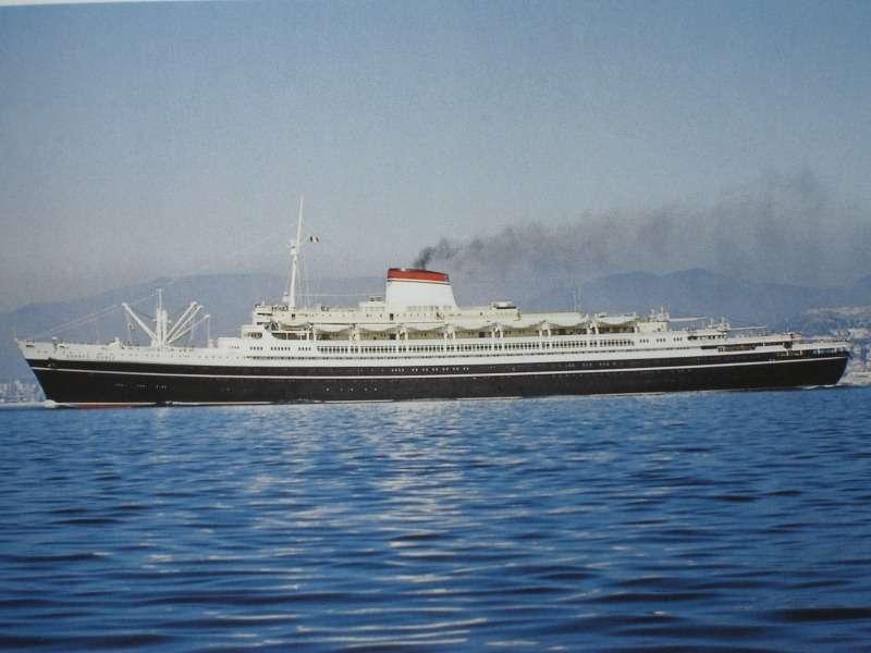 Лайнер «Андреа Дориа» был спущен наводу 16июня 1951 года исовершил первый рейс 14января 1953 года. Водоизмещение 29000 тонн, длина 213,8м, вместимость 1221 пассажир, скорость 23узла (42,6 км/ч). Назван вчесть генуэзского адмирала XVI века.