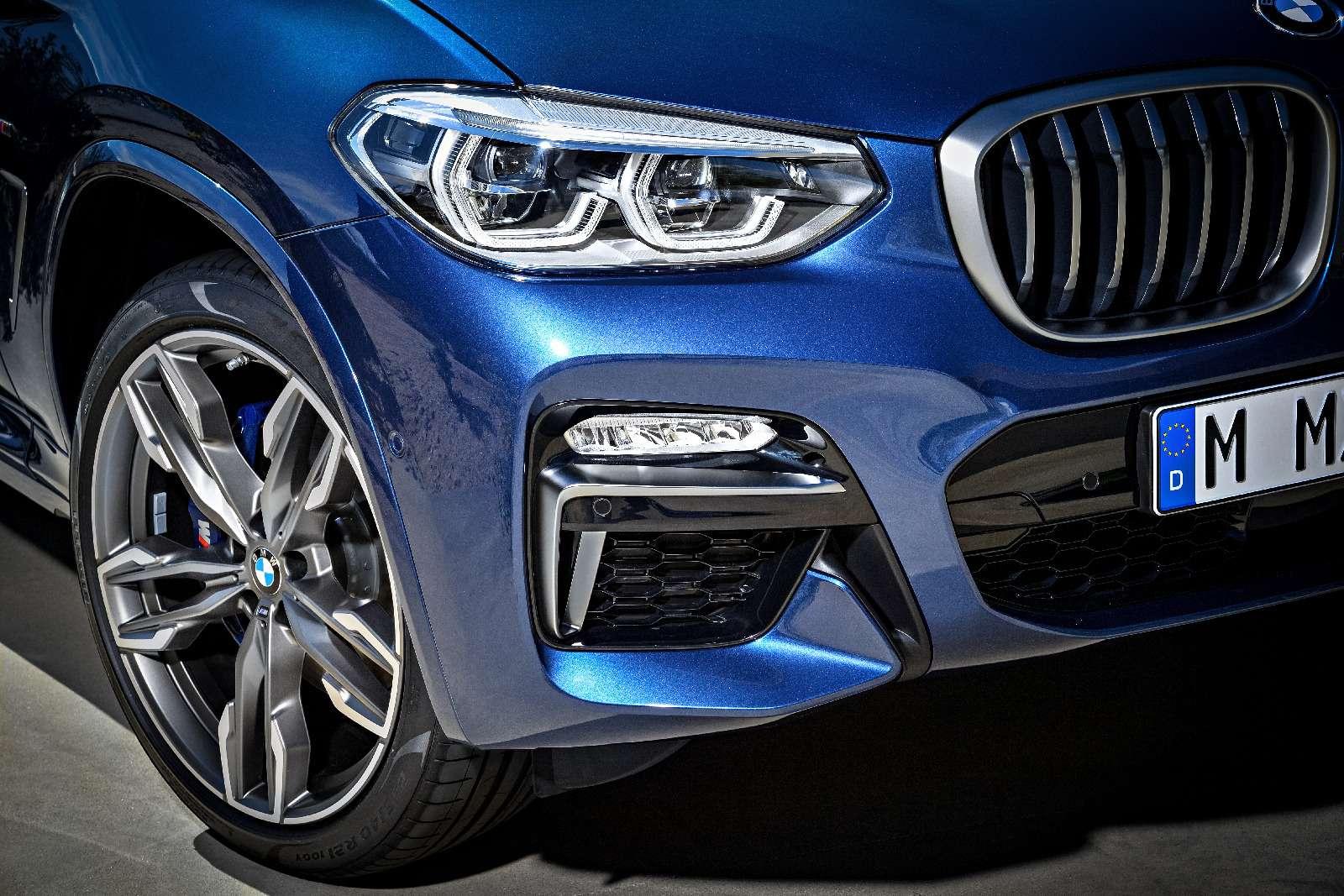 Новый BMW X3оказался крупнее старого Х5— фото 768543